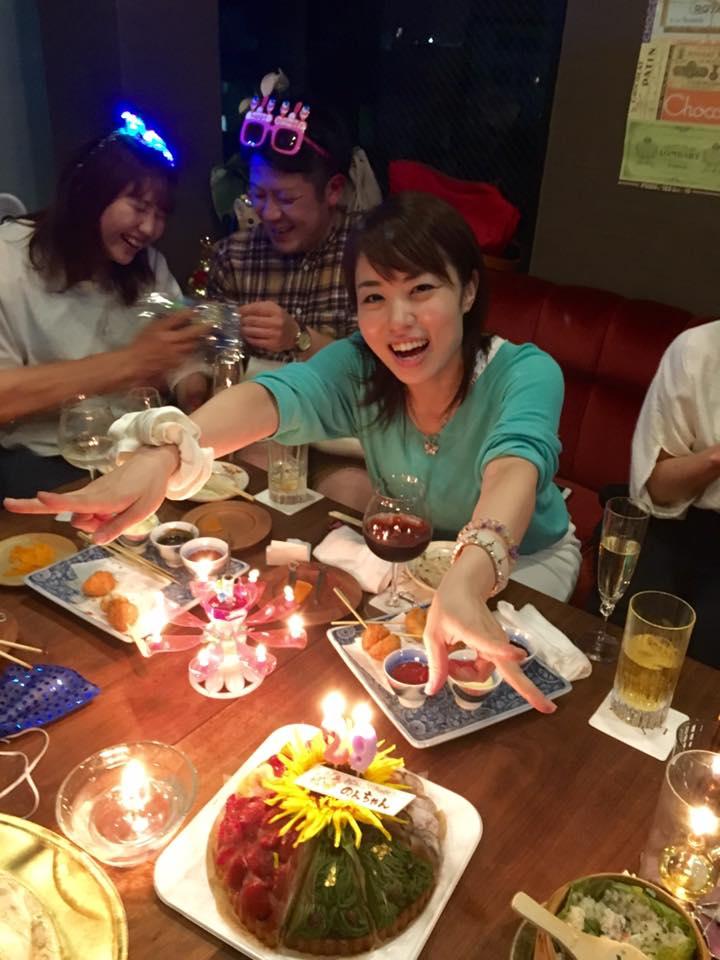 のんちゃんのお誕生会