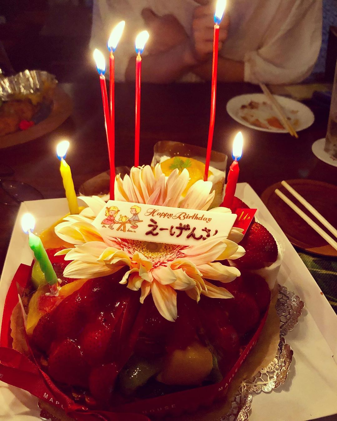 お誕生日おめでとうでした♪…
