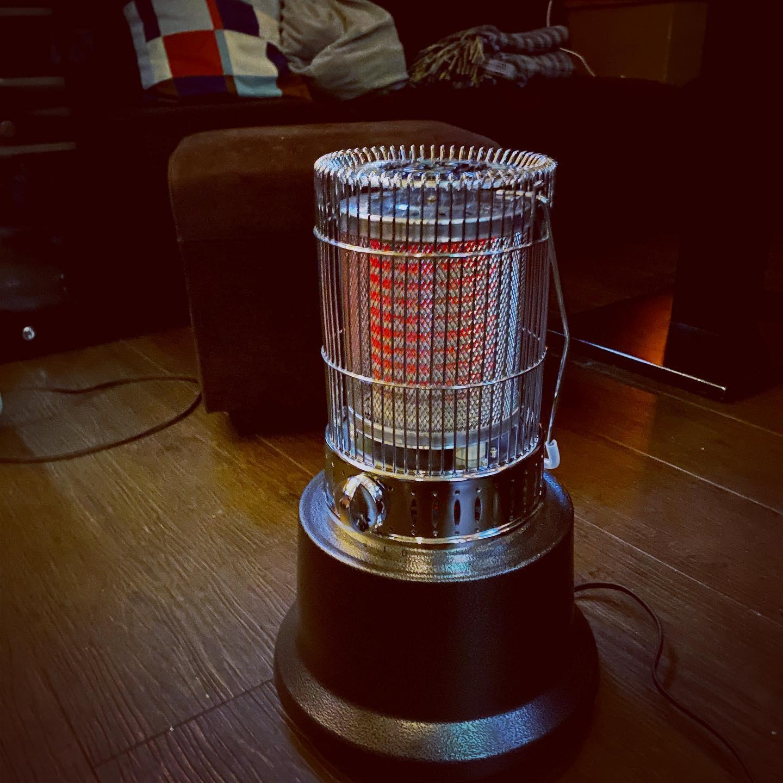 2台目のレトロ電気ストーブは丸型です♪新... - 金沢片町るたん